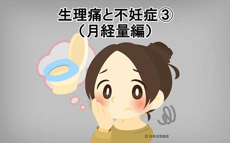 生理痛と不妊症③(月経量編)